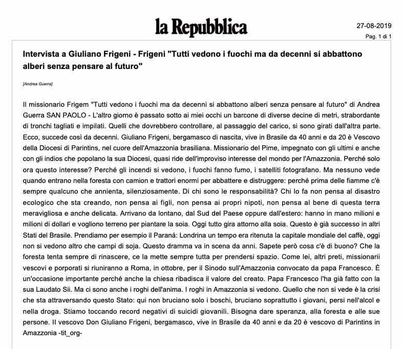 20190827 - Repubblica - Frigeni